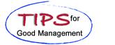 Tips For Good Management