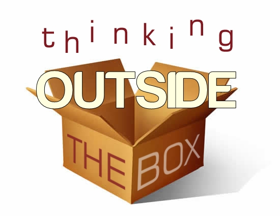 Image result for outside the box clipart